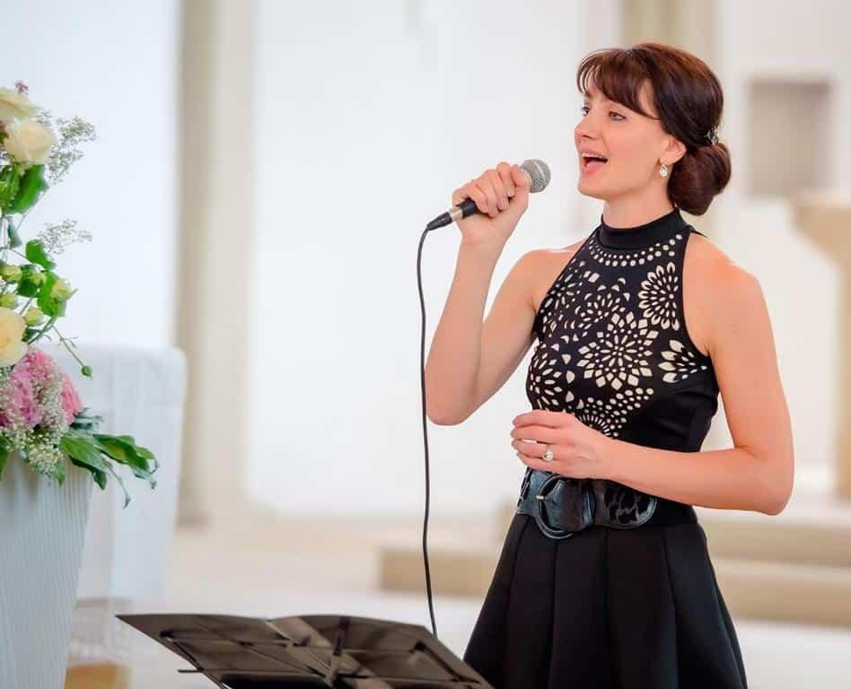 Sängerin Helena Hasselbach