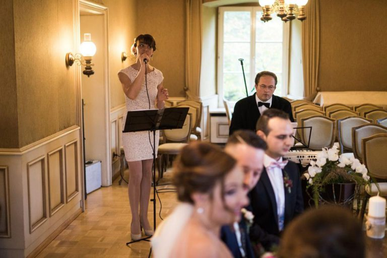 Standesamtliche Trauung im Haus des Gastes in Preußisch Oldendorf Auftritt