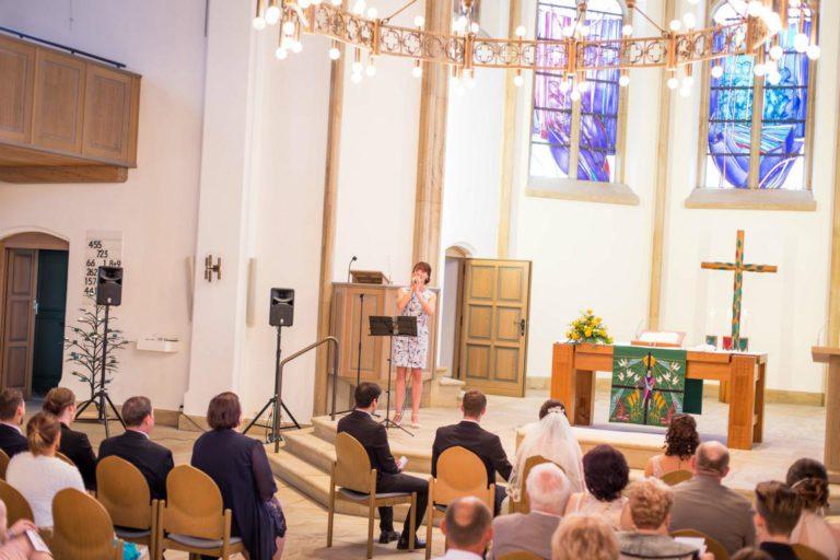 Trauung in der ev. Kirche in Brakwede