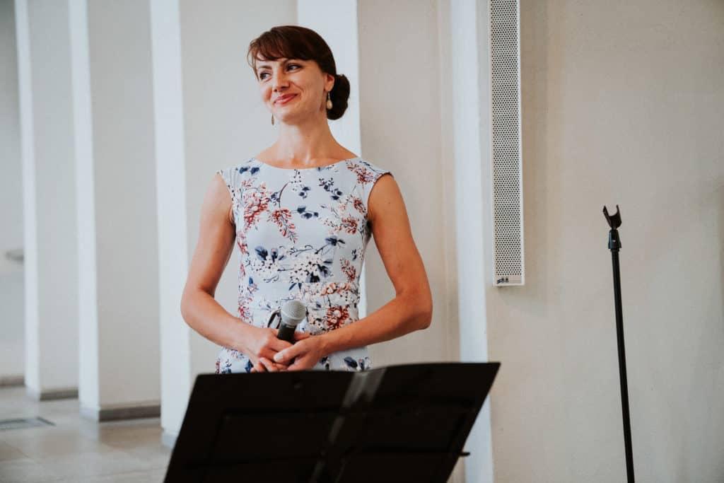 Musikalische Überraschung für den Bräutigam